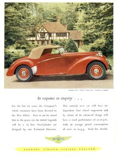 1940s Car Advertisment