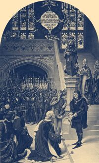 Richard III being offered the English Crown