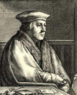 Thomas Cromwell engraving English