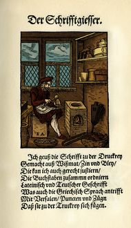 TYPE FOUNDER, 1568