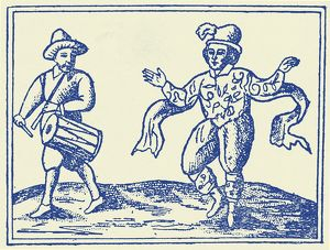 William Kempe dancing the Morris