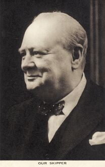 Winston Churchill - portrait
